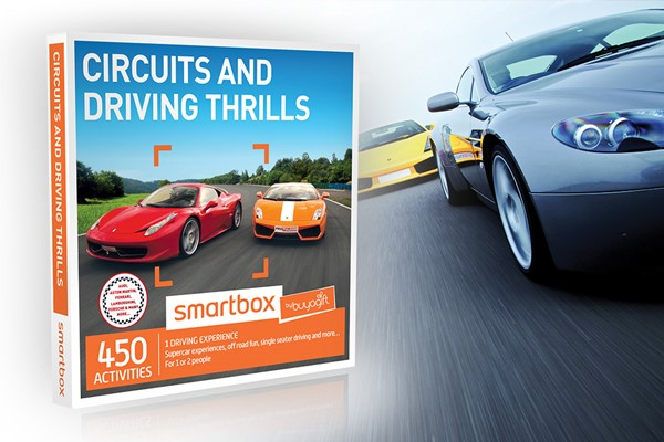 Circuits And Driving Thrills Smartbox By Buyagift