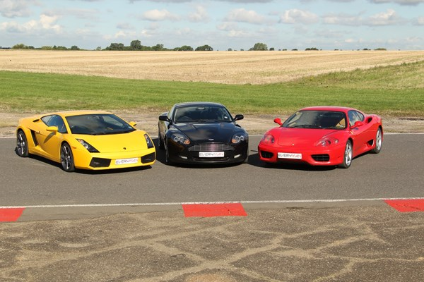 Triple Supercar Driving Blast With High Speed Passenger Ride In North Yorkshire