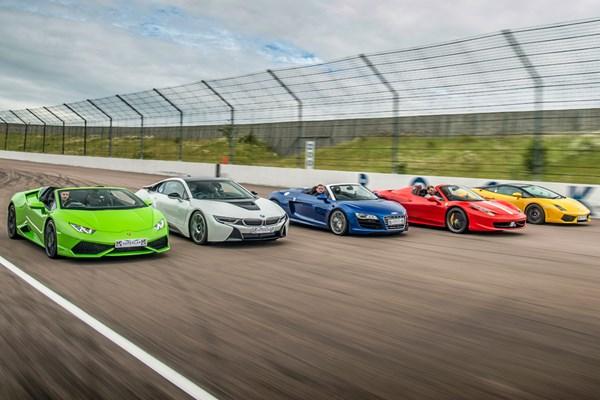 Five Supercar Driving Blast