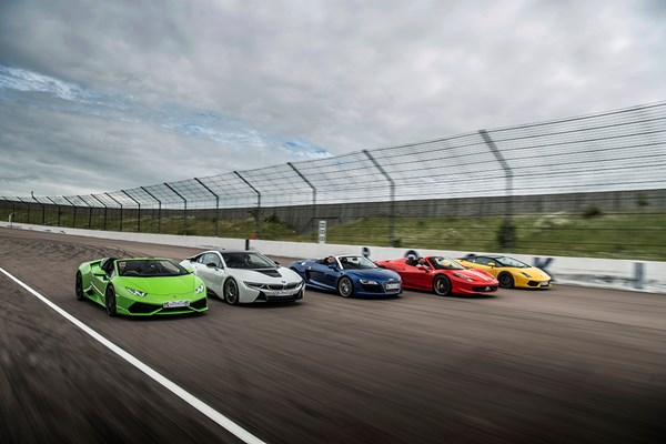Five Supercar Driving Blast With High Speed Passenger Ride  Week Round
