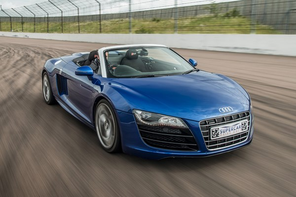 Supercar Driving Blast At Heyford Park