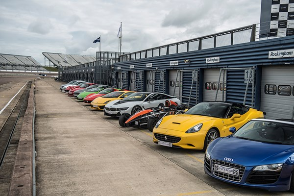 Supercar Driving Blast At Long Marston