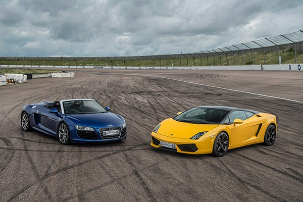 Double Supercar Thrill With High Speed Passenger Ride  Week Round