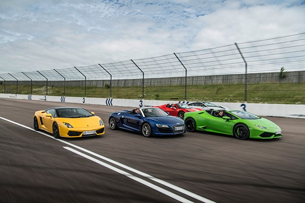 Four Supercar Driving Thrill  Week Round