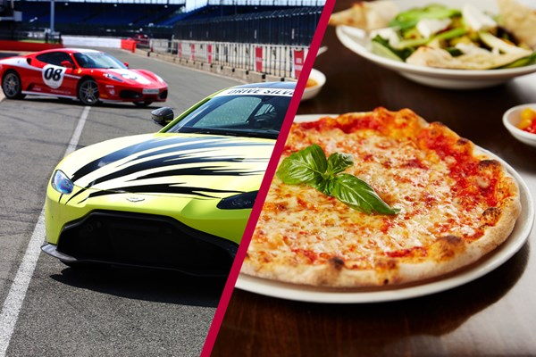 Buy Silverstone Driving Thrill with Three Course Meal at Prezzo