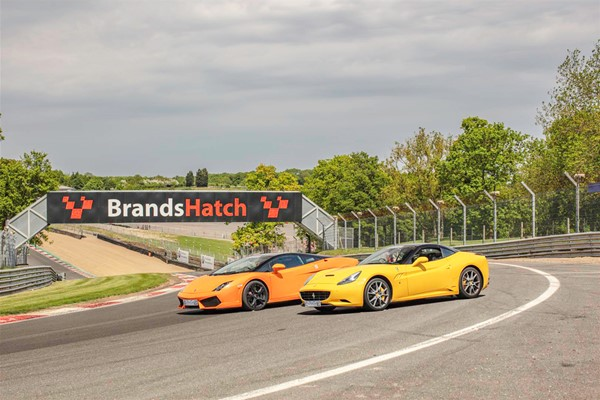 Double Supercar Driving Thrill At Brands Hatch
