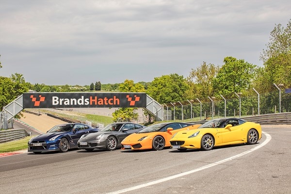 Four Supercar Driving Thrill At Brands Hatch