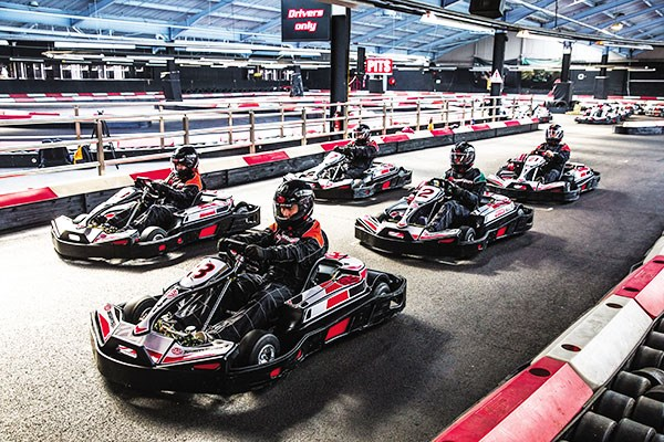 50 Lap Indoor Karting Race For Two - Special Offer