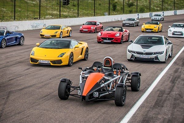 Six Supercar Driving Thrill With High Speed Passenger Ride
