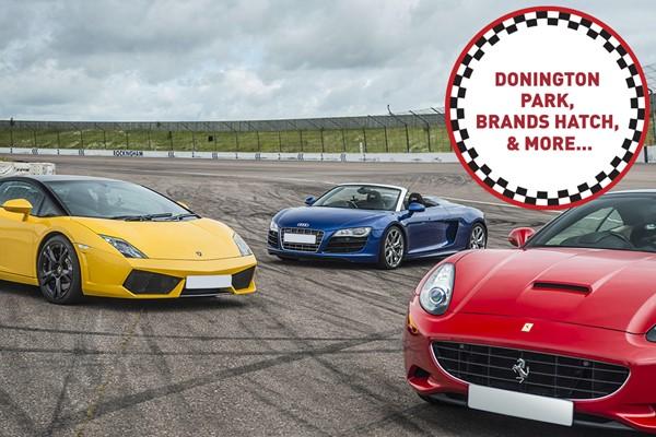 Triple Supercar Driving Thrill  Week Round