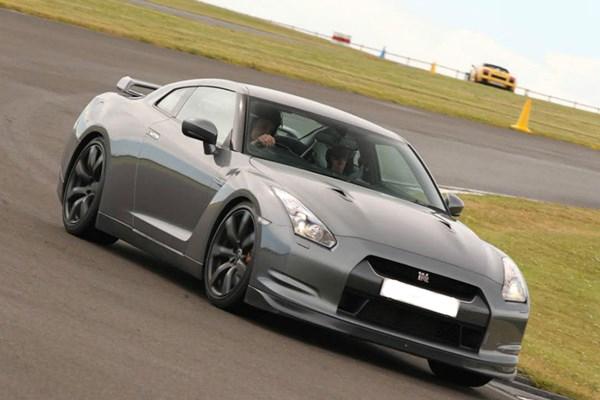 Nissan Gtr Drive At Top Uk Racetrack