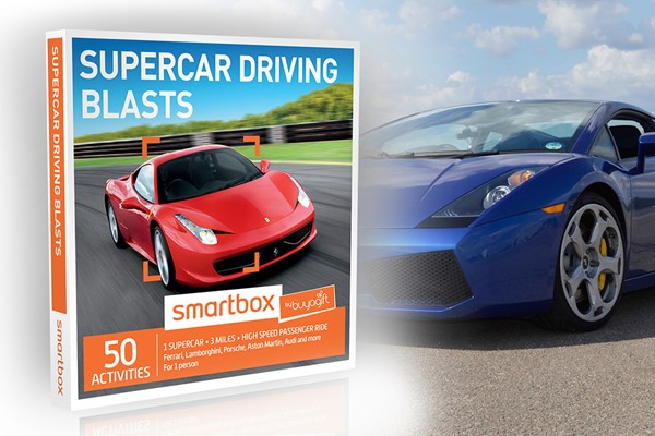 Supercar Driving Blast At Mallory Park