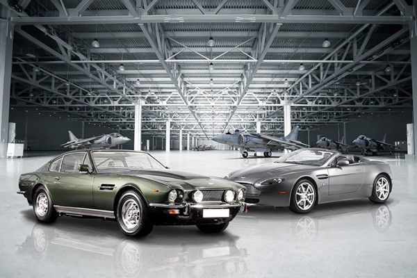 Click to view details and reviews for 007 Modern Aston Martin Vantage And 70s Vantage Driving Blast.