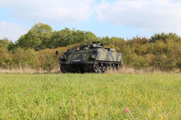 Tank Passenger Ride In Oxfordshire