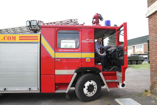 Fire Engine Driving