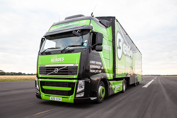 20 Minute Truck Driving Experience for One