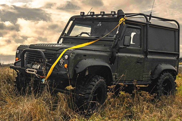 Land Rover Defender Driving Experience For Two - Special Offer