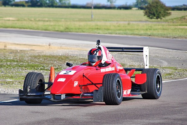 12 Lap Formula Renault Race Car Driving Experience For One