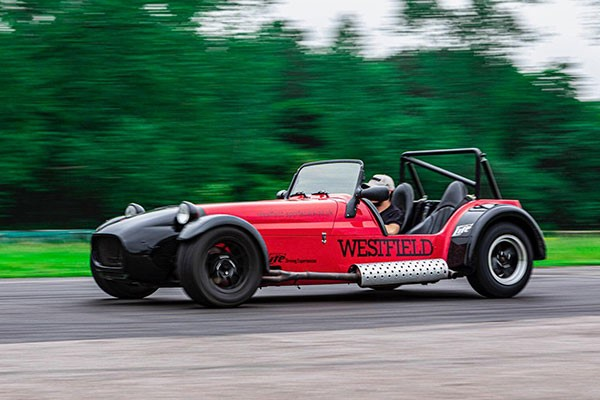 12 Lap Westfield Sportscar Driving Experience for One