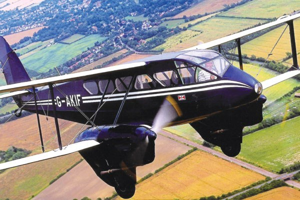 Dragon Rapide Flight Over Cambridge ElyandNewmarket
