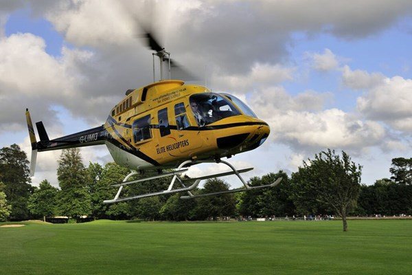 10 Minute Goodwood Helicopter Tour For Two