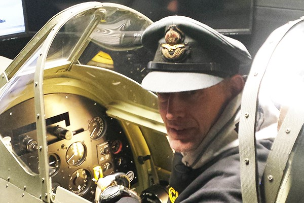 WW2 Spitfire and Messerschmitt Flight Simulator Extended Experience for Two