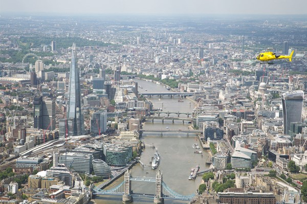 25 Minute London Helicopter Tour For One