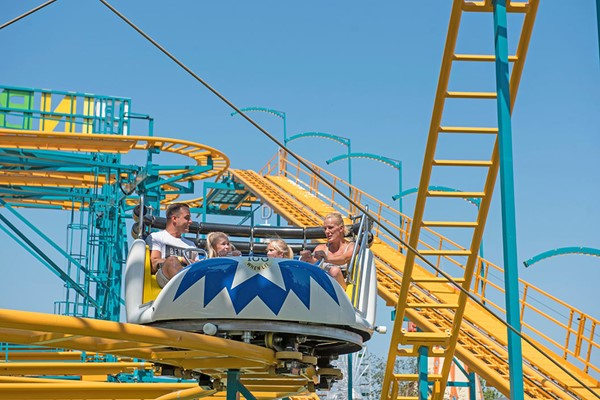 Entry To Dreamland Margate With Unlimited Rides For One Child