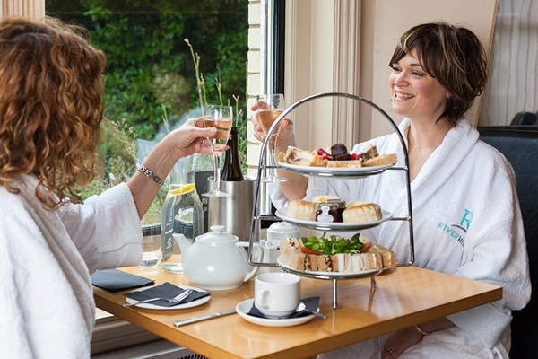 Indulgent Spa Day With 55 Minutes Of Treatments And Afternoon Tea At Riverhills