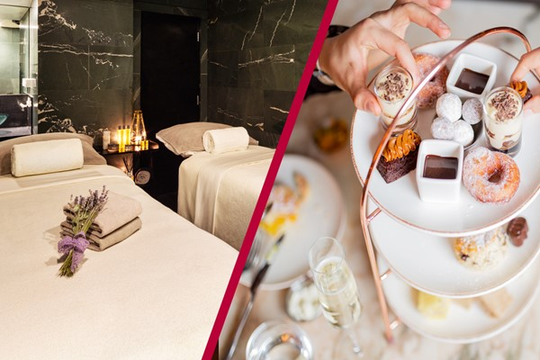 Chocolate Themed Afternoon Tea And Spa Day For Two At The May Fair Hotel  London