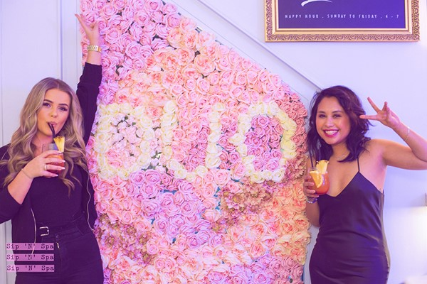 Party Entry With Manicure And Bottomless Prosecco For Two At Sip N Spa