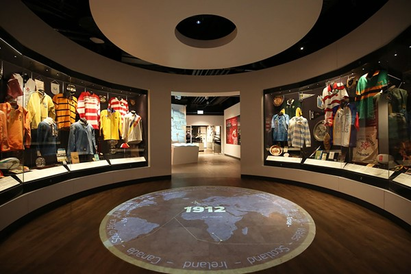 Entry To The World Rugby Museum For Two Adults And Two Children