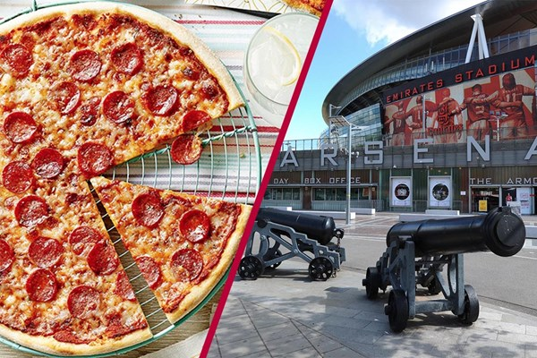 Arsenal Emirates Stadium Tour And Three Course Meal With Wine For Two