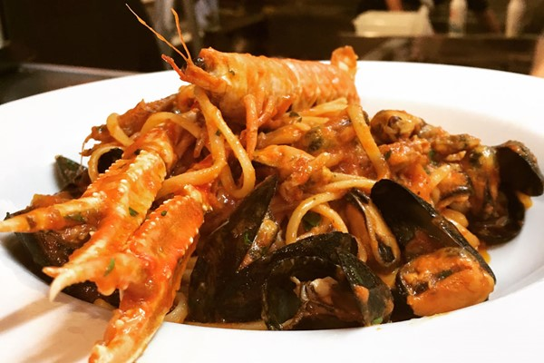 Three Course A La Carte Lunch With A Glass Of Wine Each At Salento