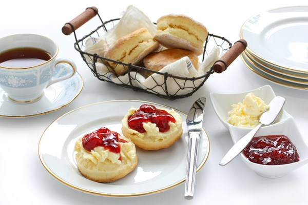 Cream Tea For Two At The English Rose Cafe