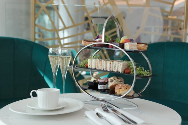 Traditional Afternoon Tea For Two At The Harrods Tea Rooms