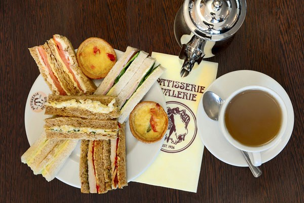 Afternoon Tea For Two At Patisserie Valerie With 10 Cake Gift Voucher