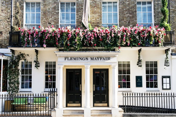 Champagne Afternoon Tea By Michelin-awarded Shaun Rankin At The 5* Flemings Hotel Mayfair