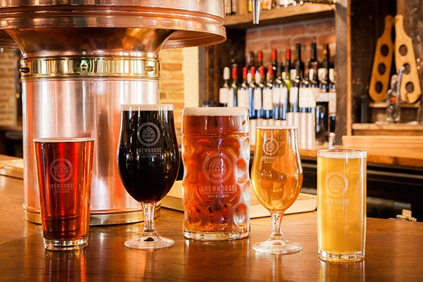 Beer Master Class And Gourmet Burger For Two At Brewhouse And Kitchen