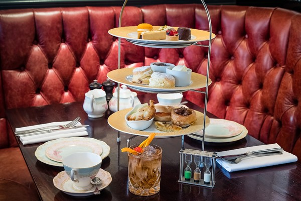 Traditional Champagne Afternoon Tea For Two At Reform SocialandGrill