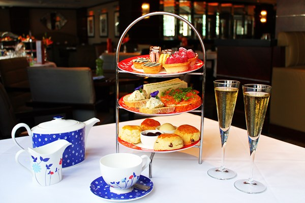 Champagne Afternoon Tea For Two At Amba Hotel  Marble Arch