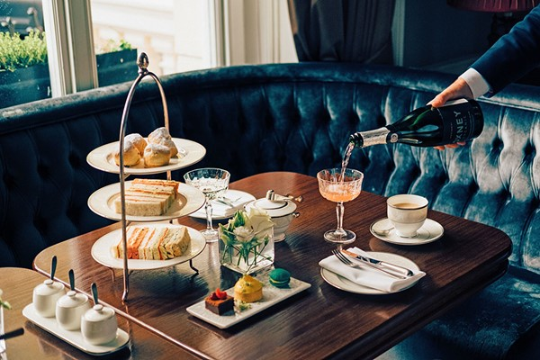 Champagne Afternoon Tea For Two At The Hyde At Roseate House Hotel  Special Offer