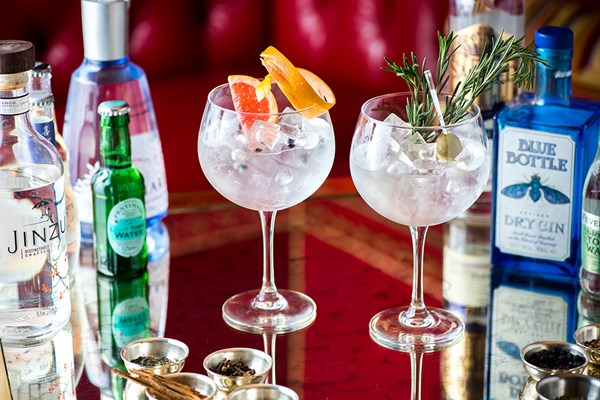 Gin Tasting Experience With Sharing Platter For Two At The Rubens At The Palace