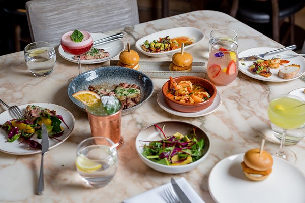 Four Course Mediterranean Dinner With Prosecco For Two At May Fair Kitchen