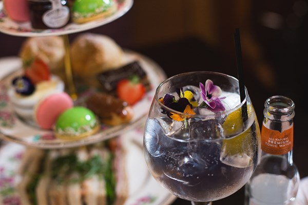 Buy Gin Afternoon Tea for Two at The Vicarage Freehouse and Rooms