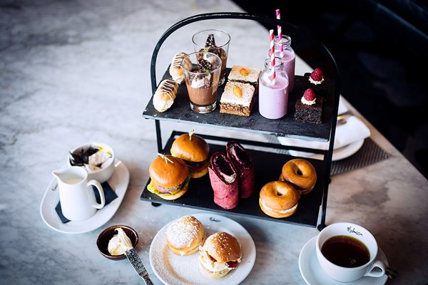 Gin Afternoon Tea For Two At A Malmaison