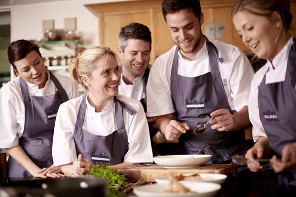 Full Day Cookery Course At The Raymond Blanc Cookery School At Belmond Le Manoir