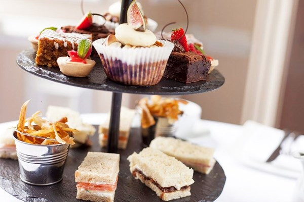 Sparkling Afternoon Tea For Two At Seckford Hall Hotel