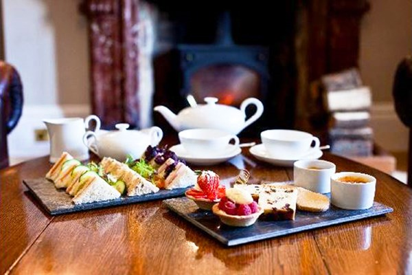 Champagne Afternoon Tea For Two At Northcote Manor Country Hotel