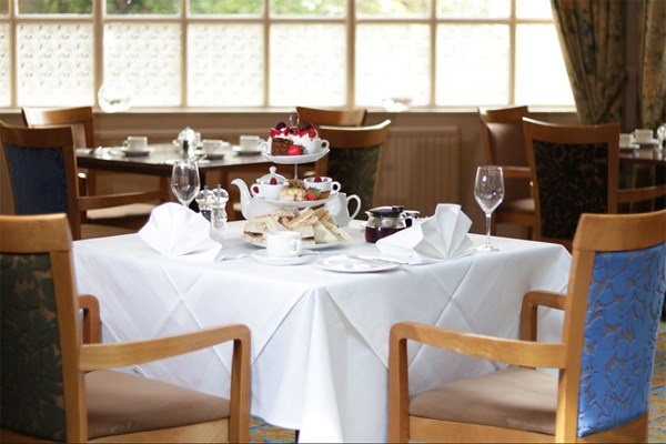 Traditional Afternoon Tea For Two At Reigate Manor Hotel